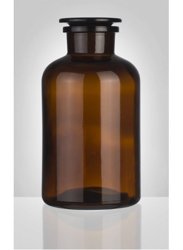 Skleněná dóza na potraviny, hnědá (2000 ml)