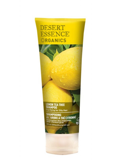 Desert Essence Šampon na vlasy lemon tea tree 237 ml
