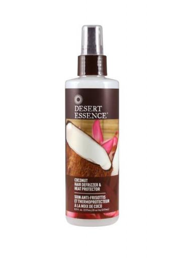 Desert Essence Kokosový stylingový a ochranný sprej na vlasy 237 ml