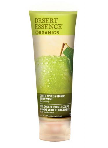 Desert Essence Sprchový gel zelené jablko a zázvor 236 ml