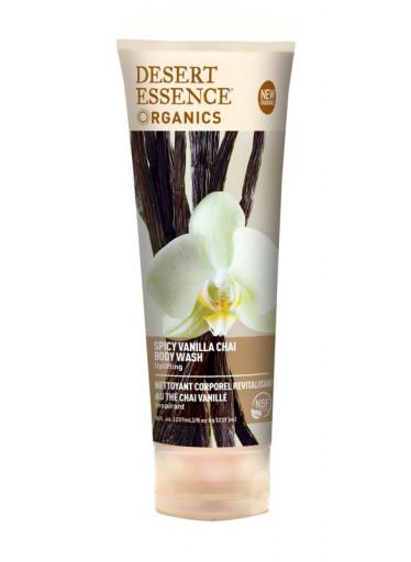 Desert Essence Sprchový gel vanilka 236 ml