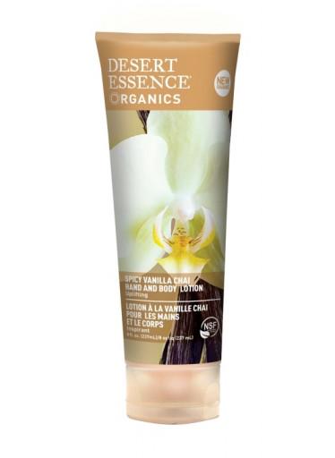 Desert Essence Tělové mléko vanilka 236 ml