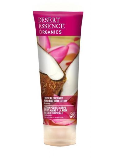 Desert Essence Tělové mléko exotický kokos 236 ml