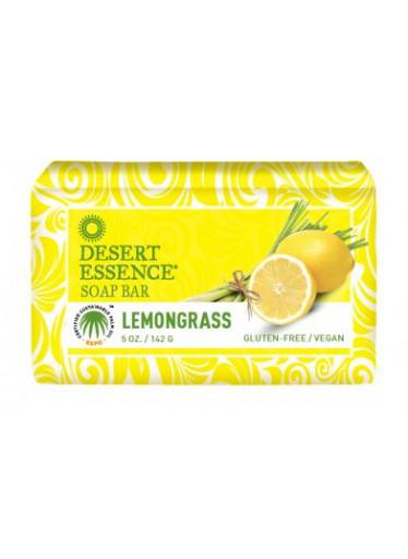 Desert Essence Tuhé mýdlo citrónová tráva
