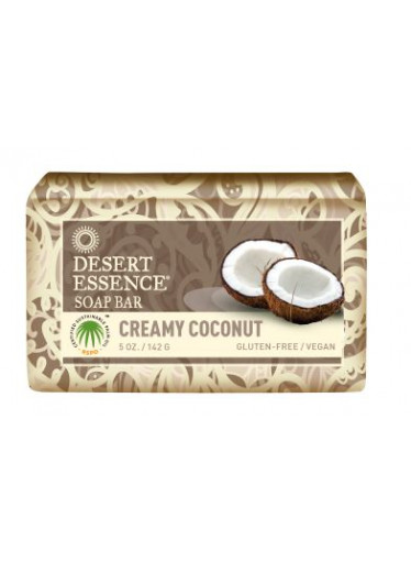 Desert Essence Tuhé mýdlo krémový kokos