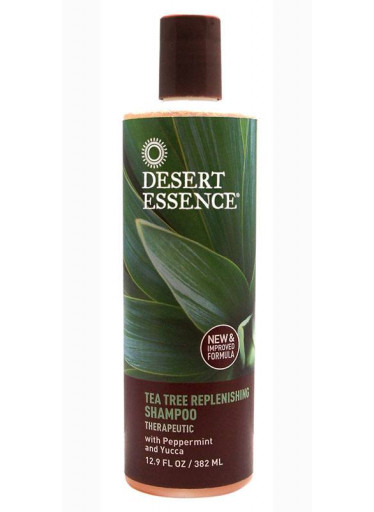 Desert Essence Šampon hojivý a regenerační tea tree 382 ml