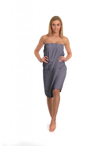Dámský saunový kilt Dark Grey