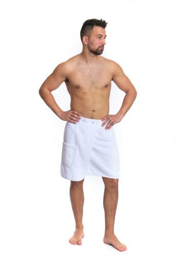 Pánský saunový kilt White