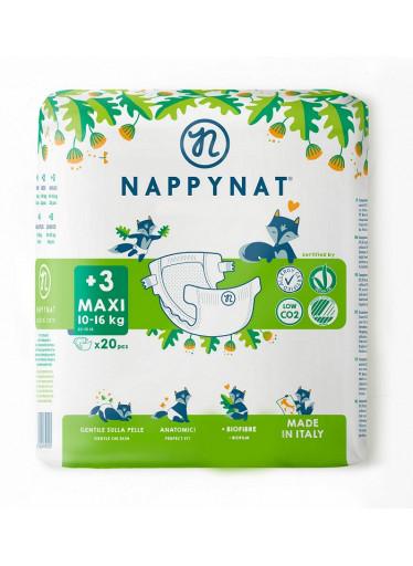 Nappynat natural care Plenky Maxi 8 - 16 kg (20 ks)