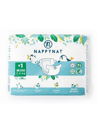 Nappynat natural care Plenky Mini 2 - 6 kg (26 ks)