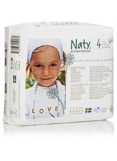 Naty Plenky Nature Babycare Maxi 7-18 kg (27 ks)
