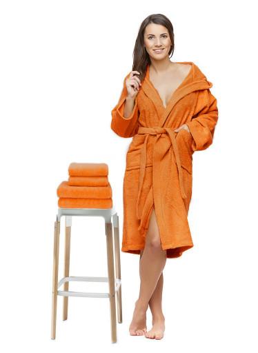Sada 22 Arancio župan + osuška + ručníky