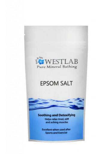 WESTLAB Epsom relaxační sůl 1kg, uvolnění po sportu a námaze (hořčík)