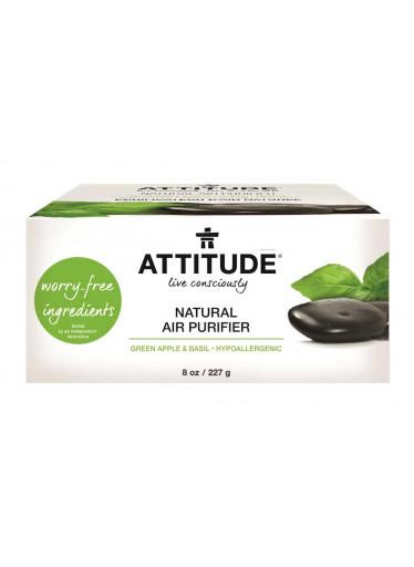 ATTITUDE Přírodní čistící osvěžovač vzduchu s esenciálními oleji, 227 g - zelené jablko a bazalka