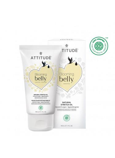 ATTITUDE Blooming Belly Přírodní olej pro těhotné a po porodu - argan a mandle 150 ml