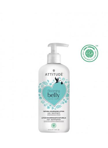 ATTITUDE Blooming Belly Přírodní vyživující tělové mléko nejen pro těhotné s arganem 473 ml