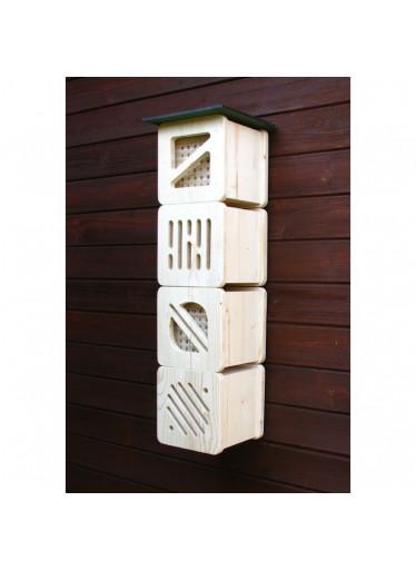 Cube line - úchyt domku pro zavěšení na zeď