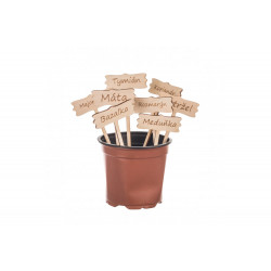 Dřevěné cedulky