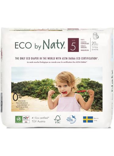 Naty Natahovací plenkové kalhotky Nature Babycare Junior 12-18 kg (20 ks)