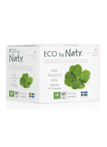 Naty ECO prsní vložky pro kojící ženy (30 ks)