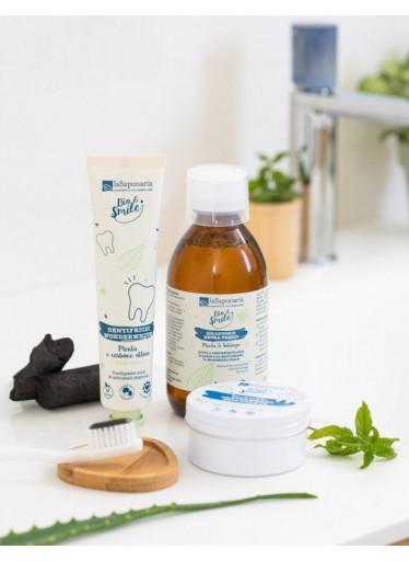 laSaponaria Extra svěží ústní voda s mátou a zlatobýlem BIO (250 ml)