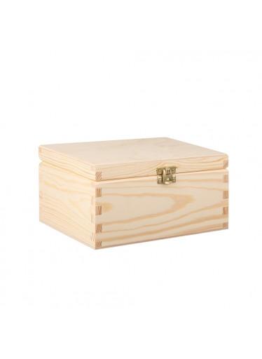 ČistéDřevo Dřevěná krabička III