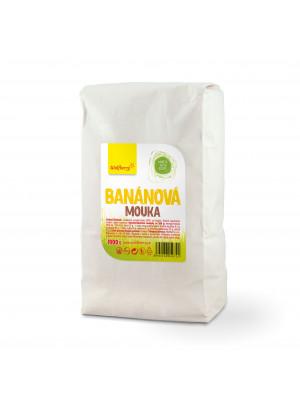Wolfberry Banánová mouka ze žlutých banánů 1000 g