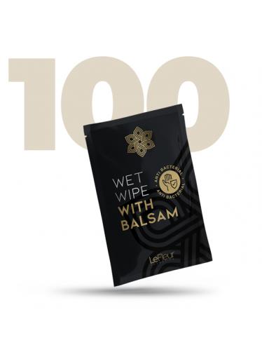 Antibakteriální ubrousek s balzámem 100 ks