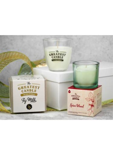 The Greatest Candle Sada vonných prášků na výrobu 5 svíček - dřevo a koření