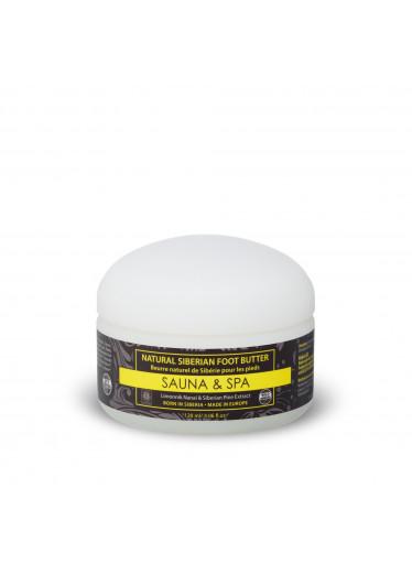 Sauna & Spa Přírodní sibiřské máslo na nohy, 120 ml