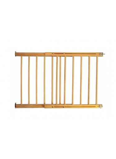 ČistéDřevo Dřevěná bezpečnostní zábrana 72-122 x 68 cm