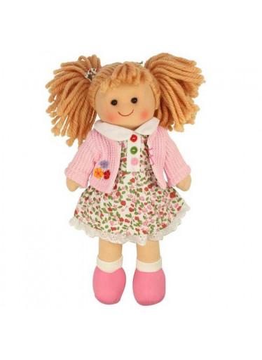 Bigjigs Dětská látková panenka