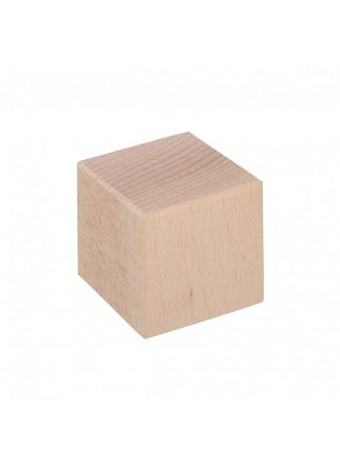 ČistéDřevo Dřevěná kostka 5,5 x 5,5 cm