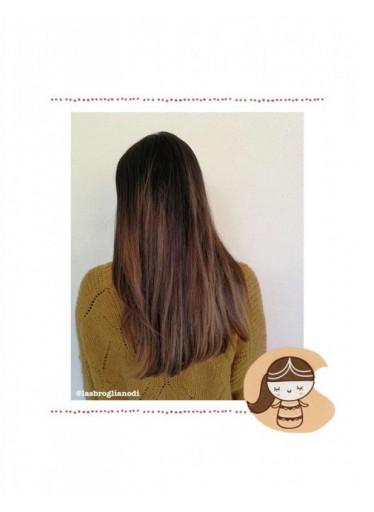 laSaponaria Přírodní barva na vlasy Indrani BIO (100 g) - zlatý kaštan