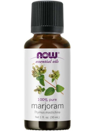 NOW® Foods NOW Essential Oil, Marjoram oil (éterický olej Majoránka), 30 ml