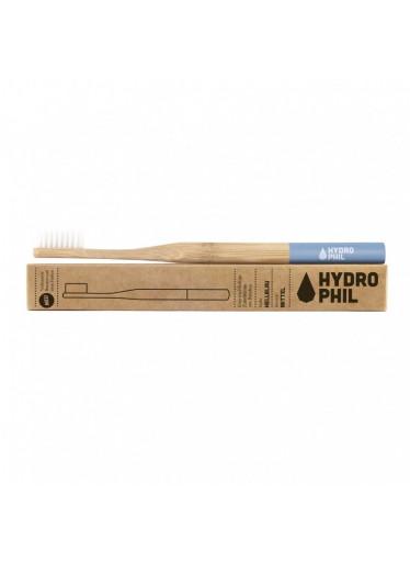 Hydrophil Bambusový kartáček (medium) - modrý - 100% z obnovitelných zdrojů