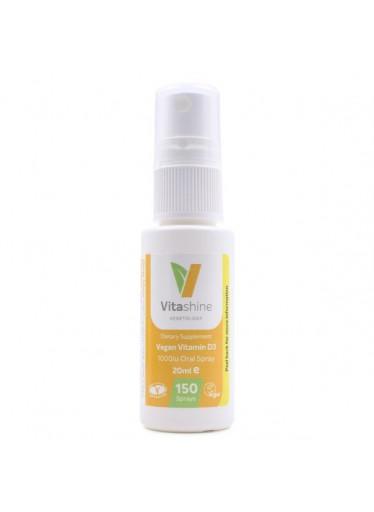Vegetology VitaShine Vitamin D3 1000 IU ve spreji (20 ml) - vhodný i pro malé děti a miminka