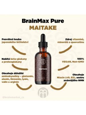 BrainMax Pure Maitake tinktura, 100 ml