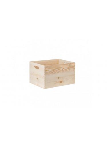 ČistéDřevo Dřevěný box 40X30X23 CM