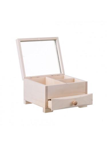 ČistéDřevo Dřevěná šperkovnice VII