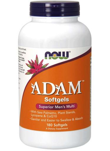 NOW® Foods NOW Adam, Multivitamin pro muže, 180 softgels