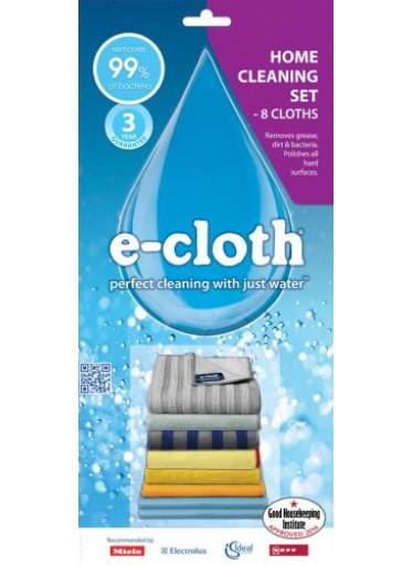 E-cloth Čístící sada pro celou domácnost - 8 hadříků