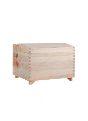 ČistéDřevo Dřevěná truhla III