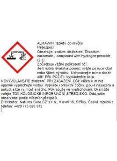 ALMAWIN TABLETY DO MYČKY 25 KS