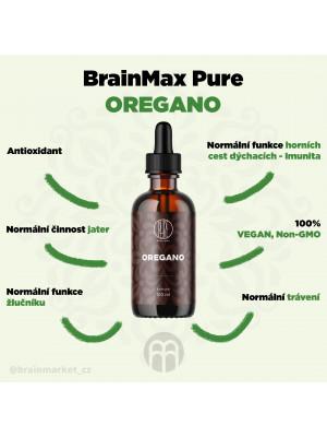 BrainMax Pure Oregano, tinktura, 100 ml