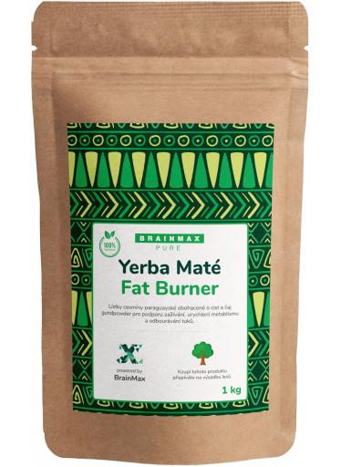 BrainMax Pure Organic Yerba Maté - Fat Burner 1000 g