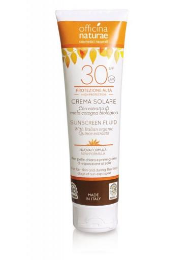 Officina Naturae Opalovací krém bez parfemace SPF 30 BIO (125 ml) - lehce se roztírá