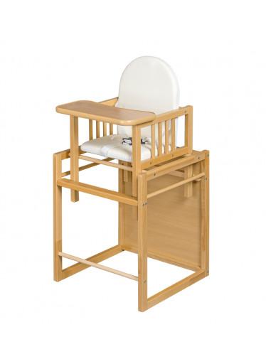 ČistéDřevo Jídelní židlička buková