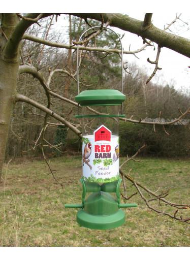 Red Barn Ptačí krmítko na semínka - zelené