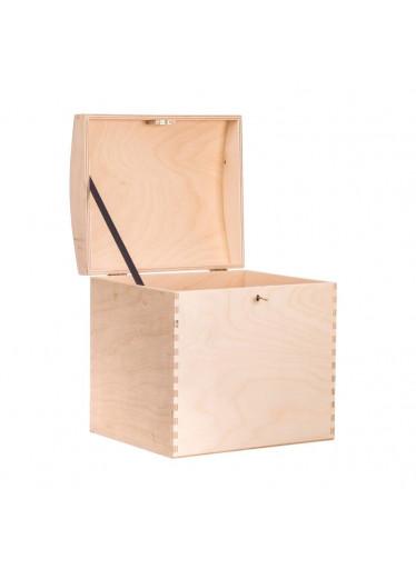 ČistéDřevo Dřevěná truhla XV na klíč